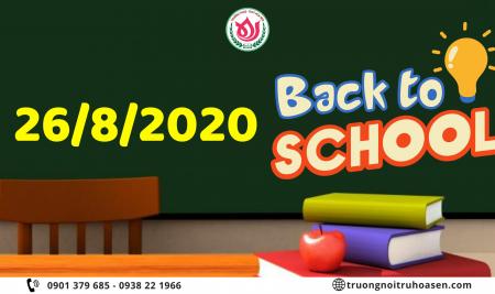 Thông báo: Nhập học chính thức năm học 2020-2021